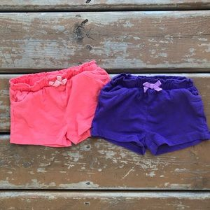 George Shorts Lot - 2 pairs - Size 6-12 months
